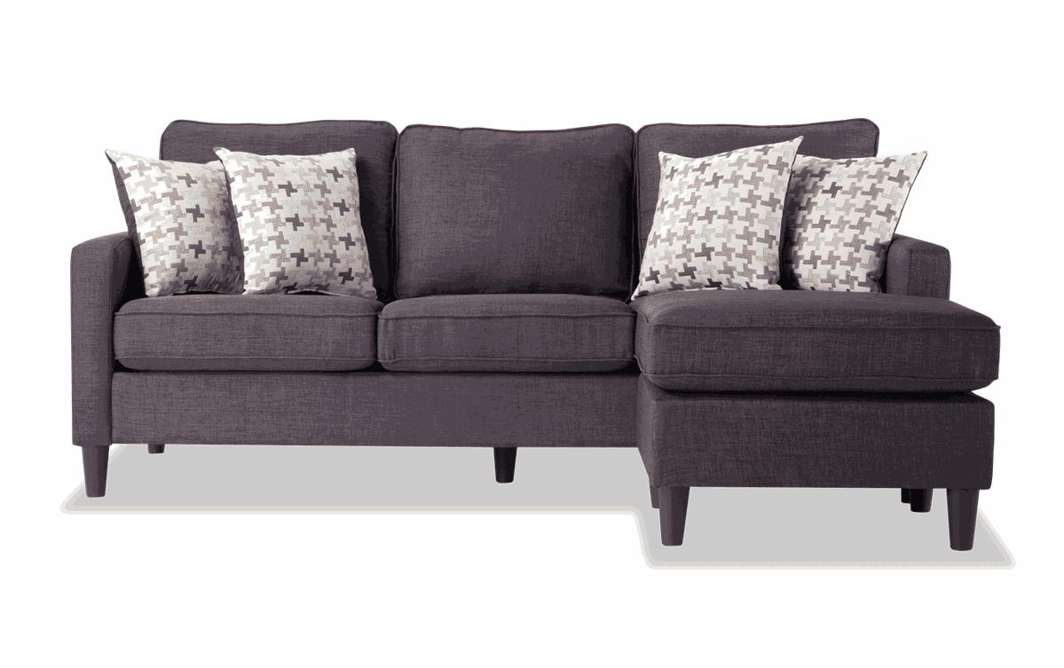 Malibu Blue Chofa Furniture Bobs Furniture Chaise Sofa