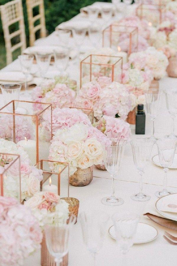 20 Blush Wedding Centerpiece We Love Blush Wedding Centerpieces Cinderella Wedding Theme Wedding Centerpieces