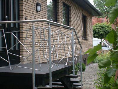 treppengel nder aus verzinktem stahl und edelstahl gel nder treppengel nder treppe und. Black Bedroom Furniture Sets. Home Design Ideas