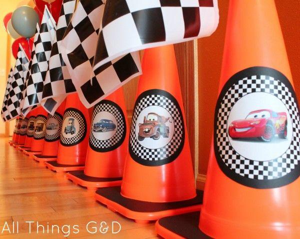 Vroom 12 Cars Birthday Party Ideas