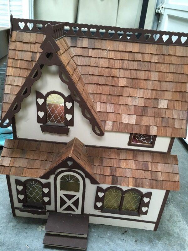 Vintage wood play house