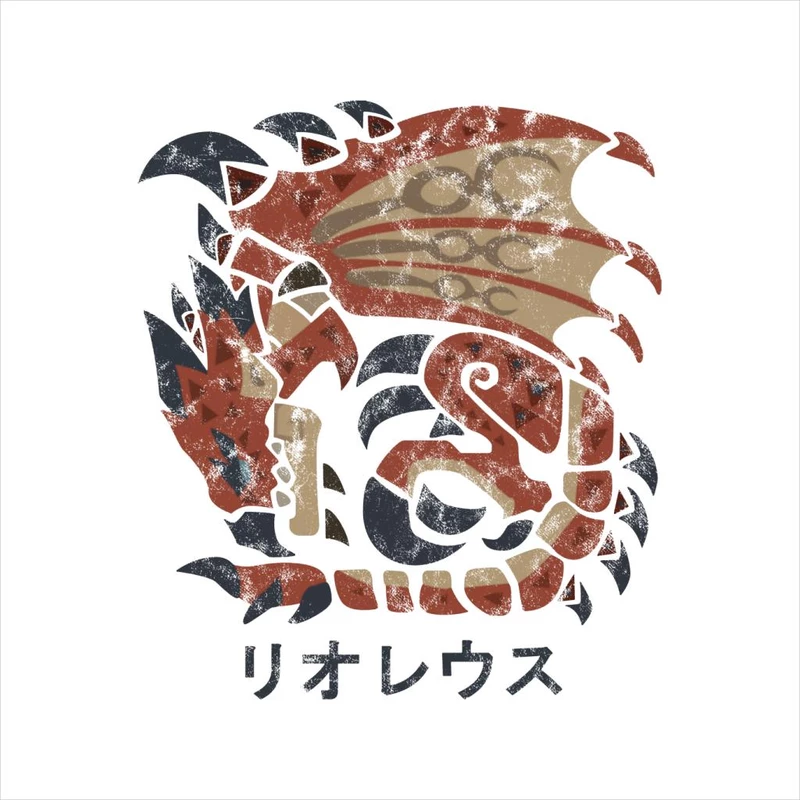 Monster Hunter World Rathalos Kanji Icon Cloud City 7 Monster Hunter World Monster Hunter Monster Hunter 3rd