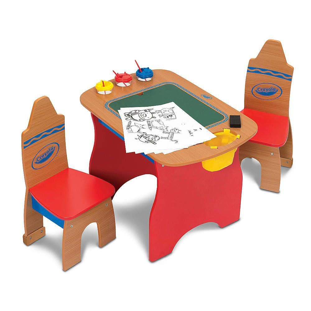Crayola Wooden Table And Chair Set Chair Sets Pinterest Wooden
