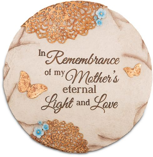 """Remembering Mother  by Light Your Way Memorial - 10"""" Stone"""
