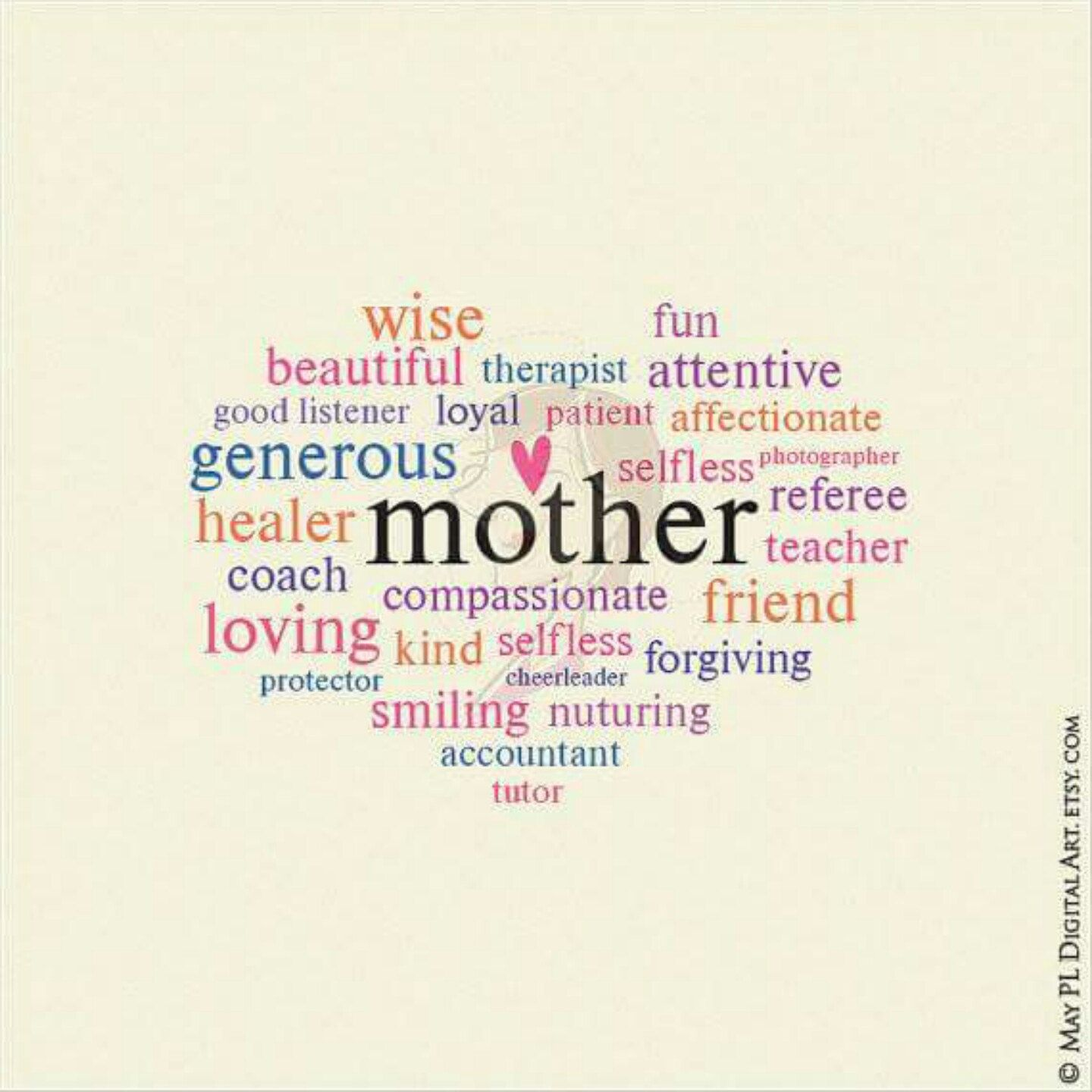 My mothers day whimsical word art you can use to make your own my mothers day whimsical word art you can use to make your own greeting card or kristyandbryce Images