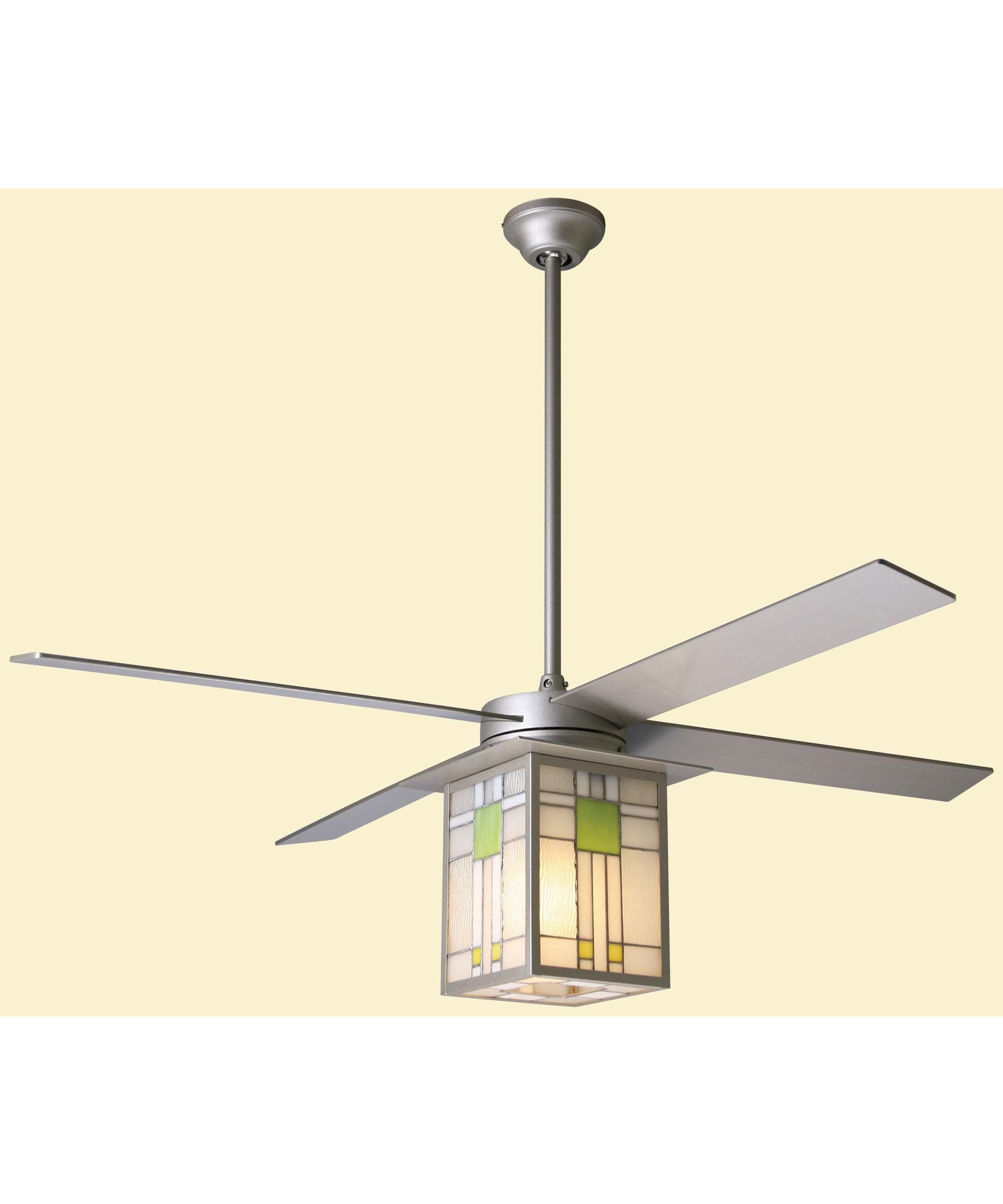 Period Arts Fan Company Pry 52 Prairie Energy Smart Inch Ceiling With Light Kit