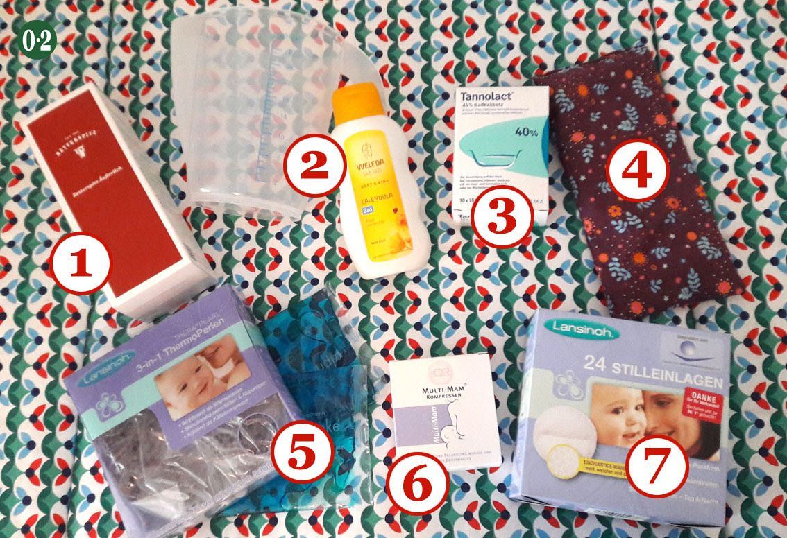 """My puerperium basket • zero point two  – Baby """"what to do"""" info"""