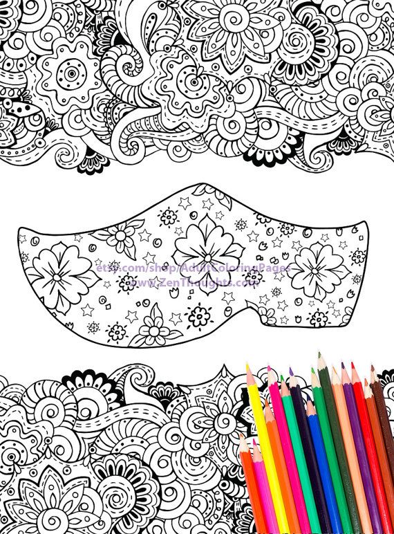 Printable Coloring Page Flowery Wooden Clog Download And Color