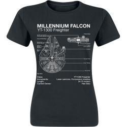Star Wars Millenium Falke T-Shirt #halloweencostumesformen