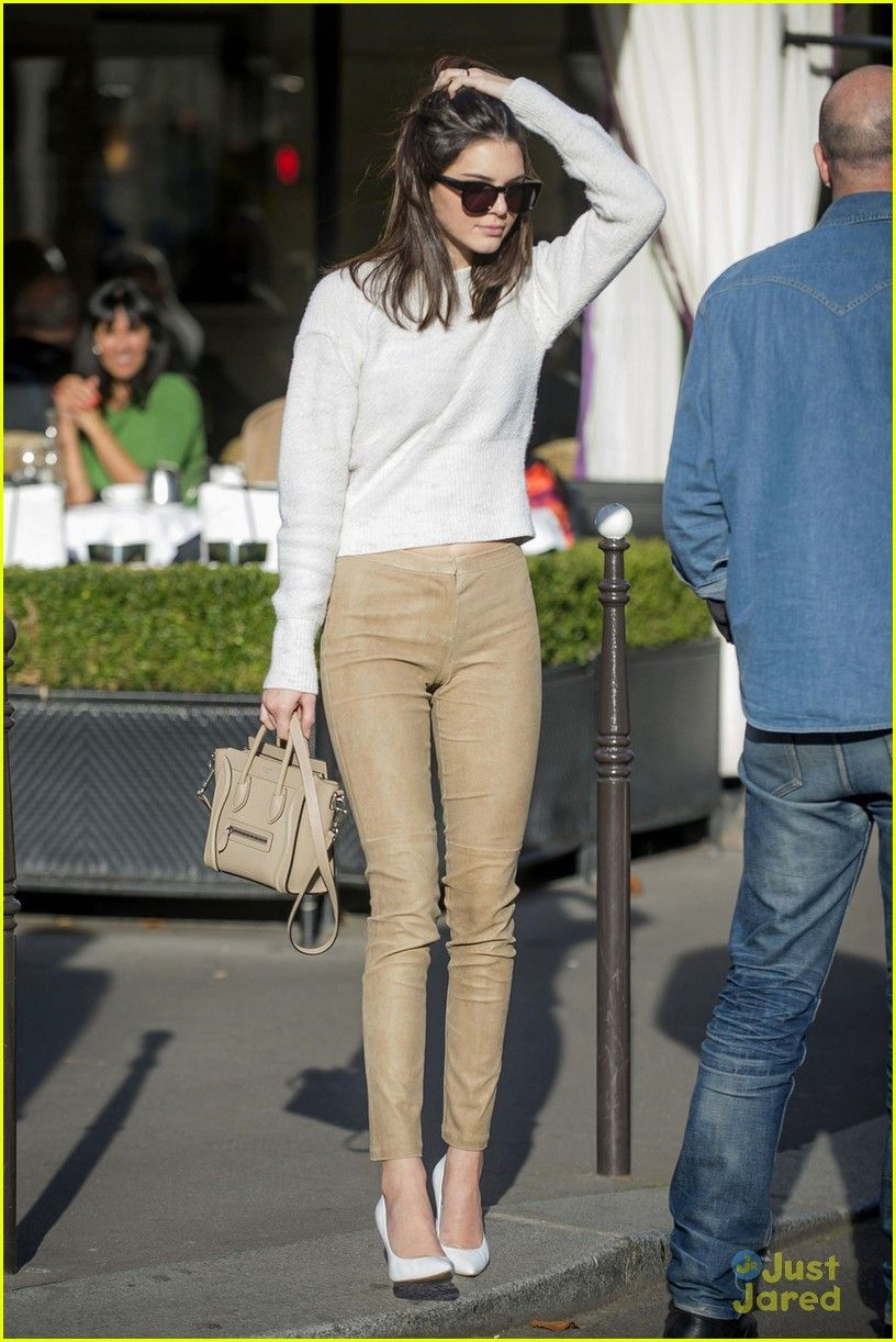 Kendall Jenner | casual but polished style. making great use of neutrals and a simple silhouette. so impressed by this look!