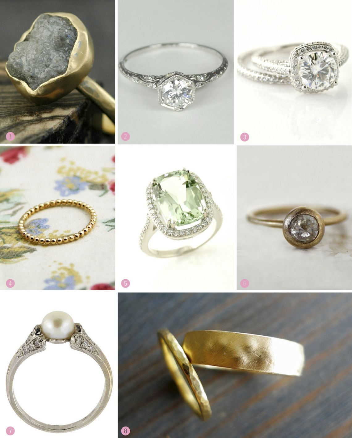 etsy engagement and wedding ring inspiration httpsupr - Etsy Wedding Rings