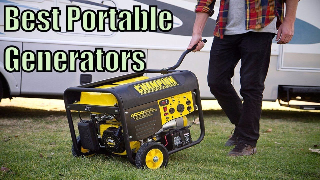 Buying a quiet and portable generator is