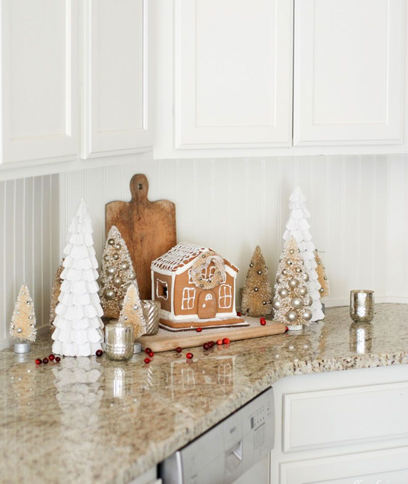 Holiday Kitchen Tour Via Ella Claire