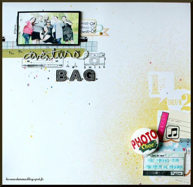 Aventure de la BAG / More on my blog : http://lesreasdemma.blogspot.fr/