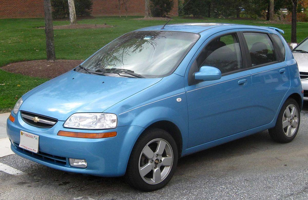 Chevrolet Aveo T200 Wikipedia Chevrolet Aveo Autos