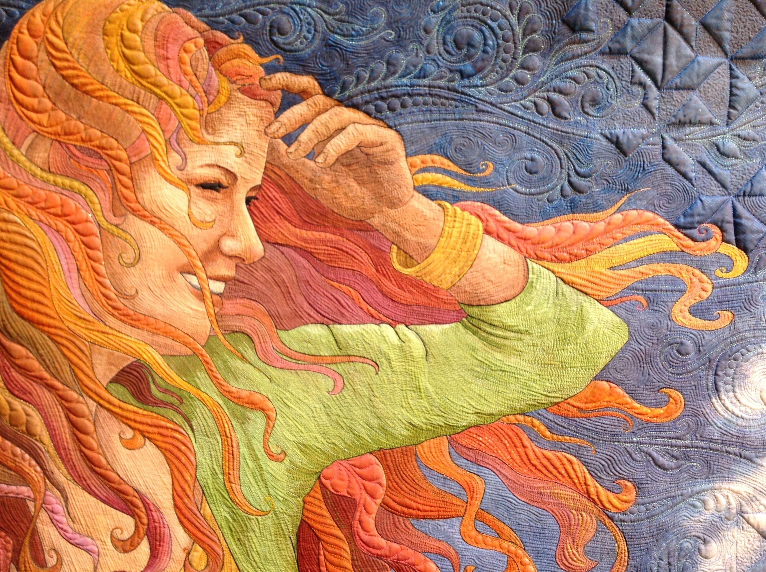 Cheri's Crystals booth | Paducah, KY, 2016 QuiltWeek® | Pinterest ... : pictorial quilts technique - Adamdwight.com