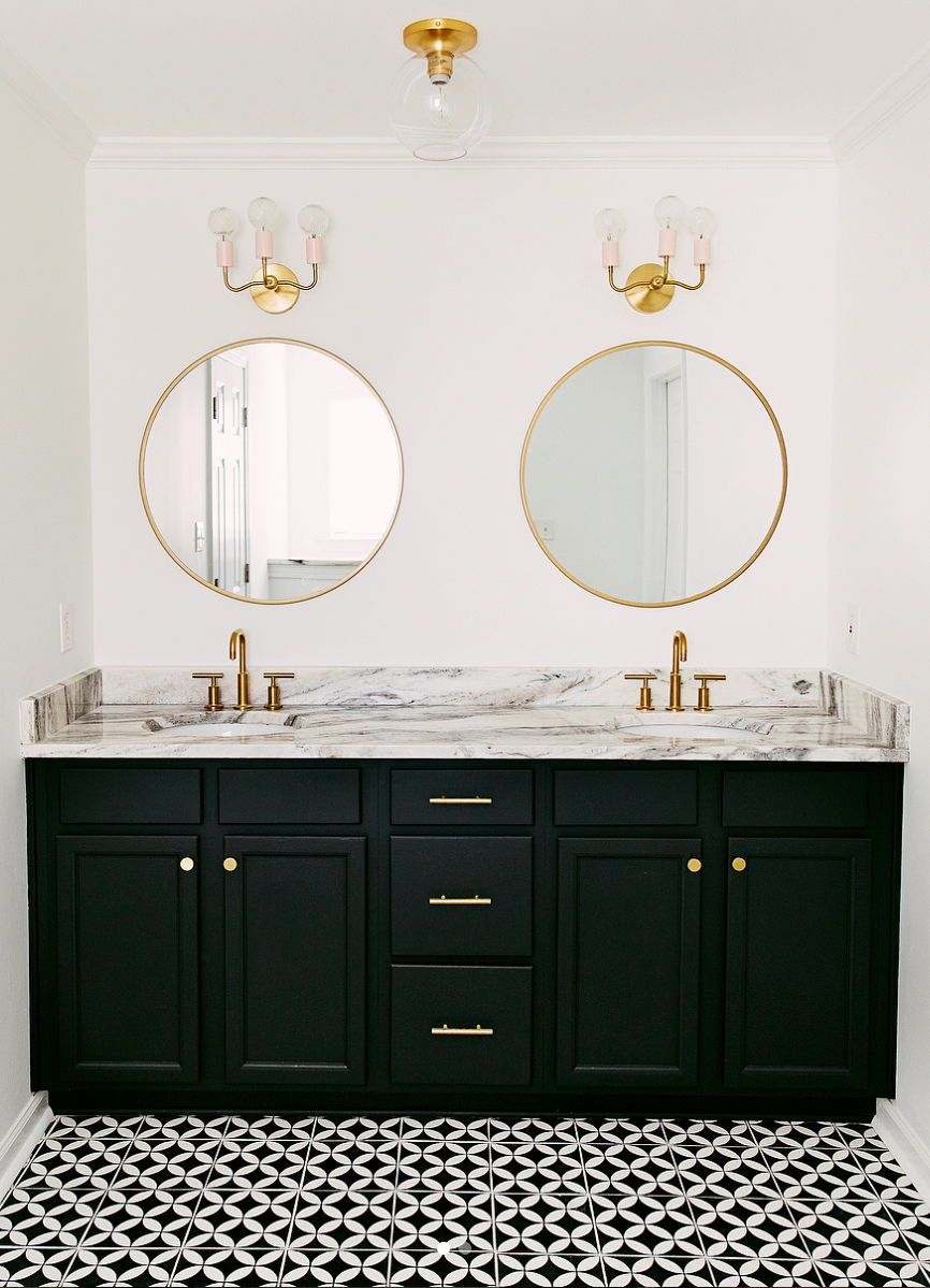 Black White And Copper Bathroom Home Talk Entertainment Forums