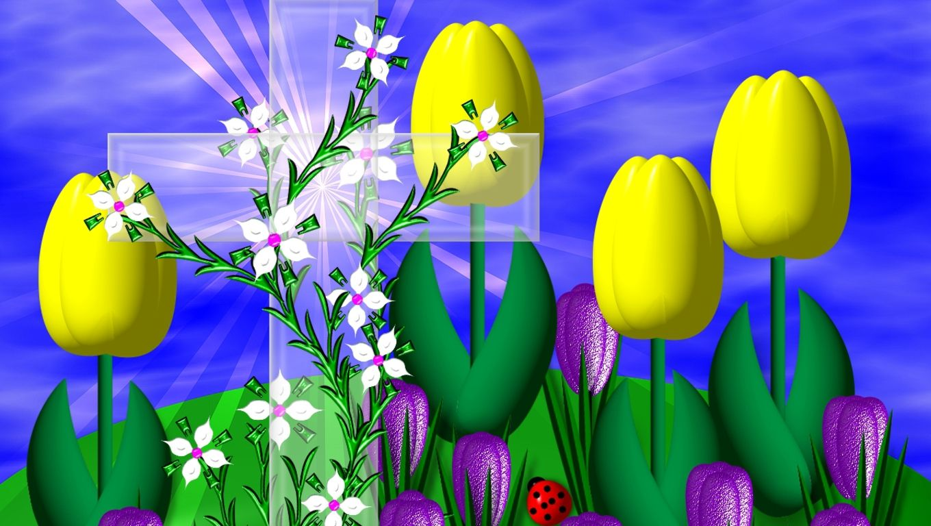 Easter Wallpaper Free Easter wallpaper, Easter blessings