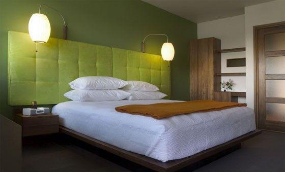Headboards Home Bedroom Modern Hotel Hotel Room Design
