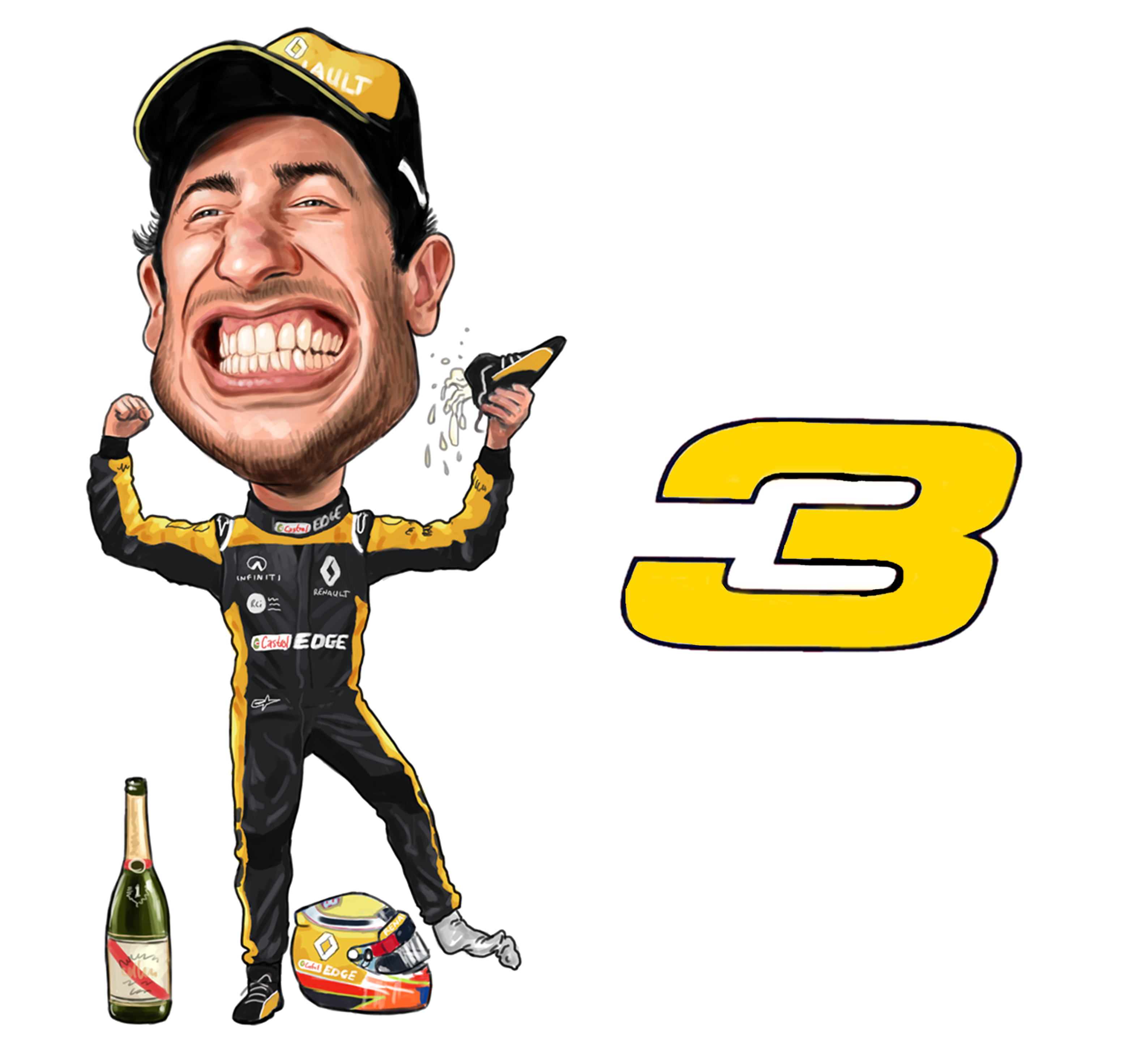 Now Daniel Ricciardo Has Moved From Red Bull To Renault F1