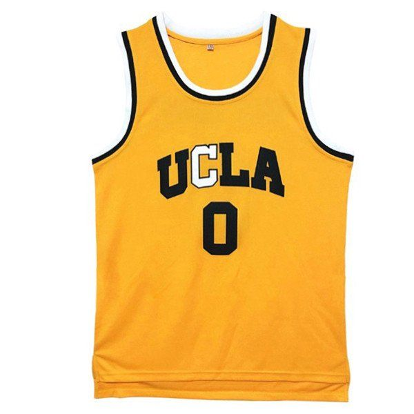 best service 7c8d3 aacab Russell Westbrook UCLA Bruins College Throwback Jersey ...