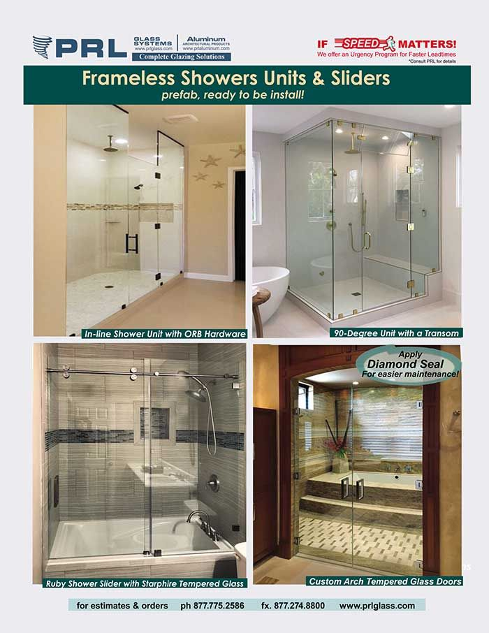 Frameless Shower Units & Sliders. At PRL we love a challenge! Allow ...