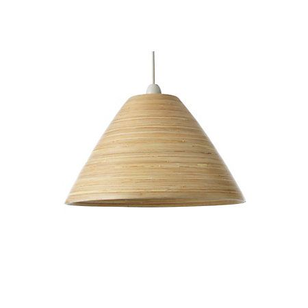 Colours cruse natural bamboo lamp shade d350mm natural colours cruse natural bamboo lamp shade d350mm mozeypictures Gallery