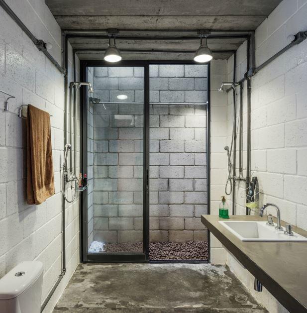 Dise o de moderno cuarto de ba o small homes pinterest for Arquitectura banos modernos