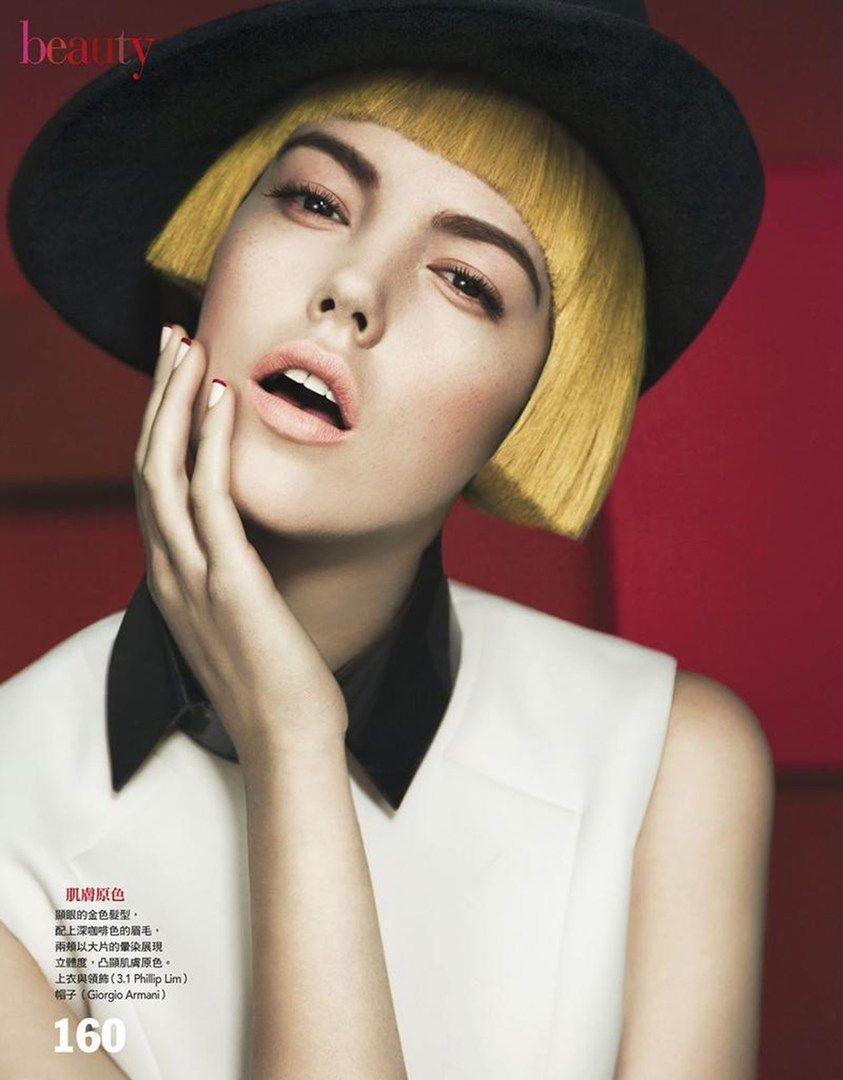 beauty-Melaney Oldenhof a stylist with Defacto Inc