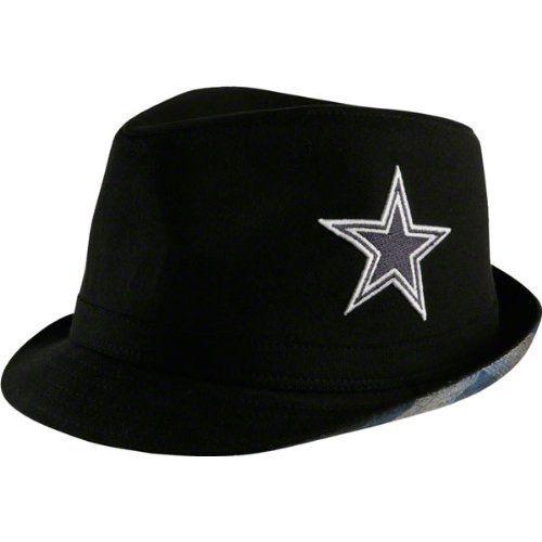 86a6307ca8202 Dallas Cowboys Black Big Star Fedora Big Star
