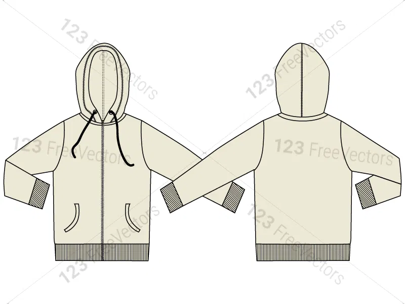 Hoodie Template Front Transparent Png Clipart Free With Blank Black Hoodie Template Best Professional Template Kaos Desain Gambar