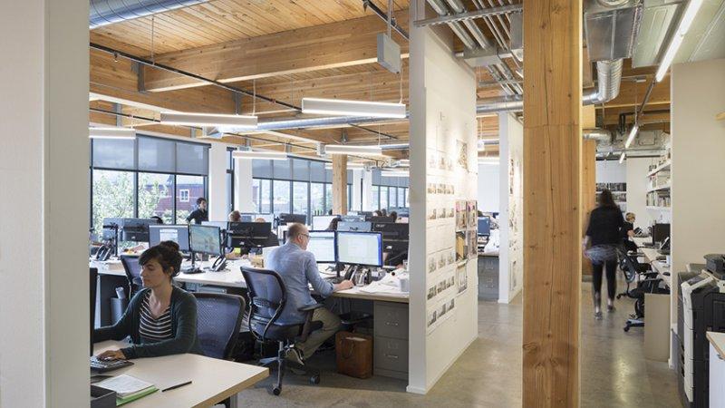 811 Stark Dci Engineers Office Interiors Interior Concrete Floors