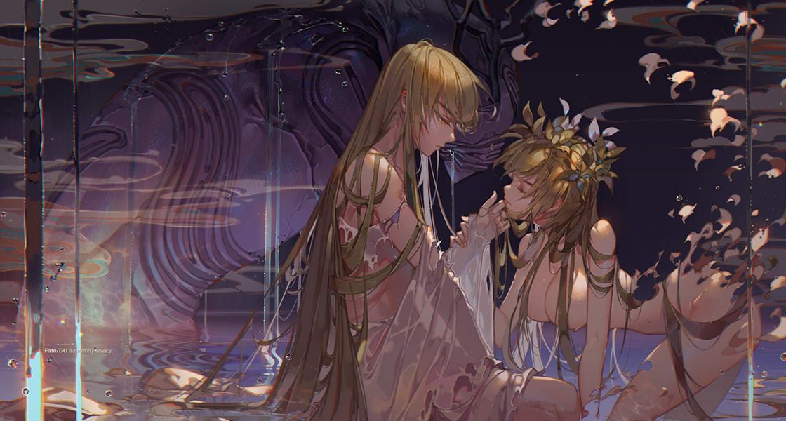 Enkidu / Shamhat【Fate/Grand Order】 | my fate | Art, Anime ...  Enkidu / Shamha...