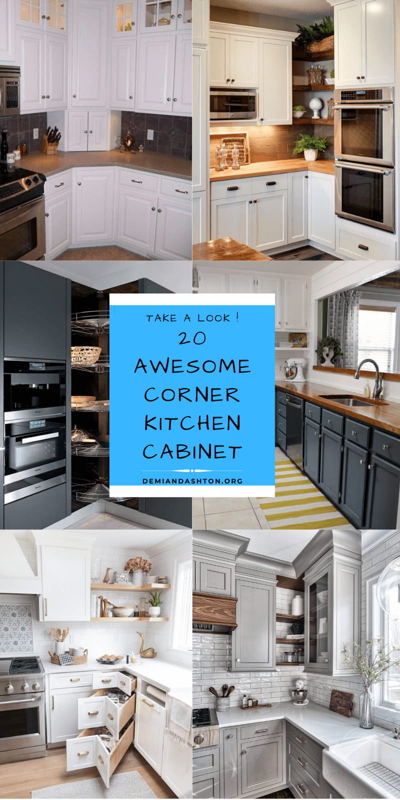 20 best ideas for corner kitchen cabinet to help you optimize the space in 2020 corner kitchen on kitchen cabinets corner id=42631