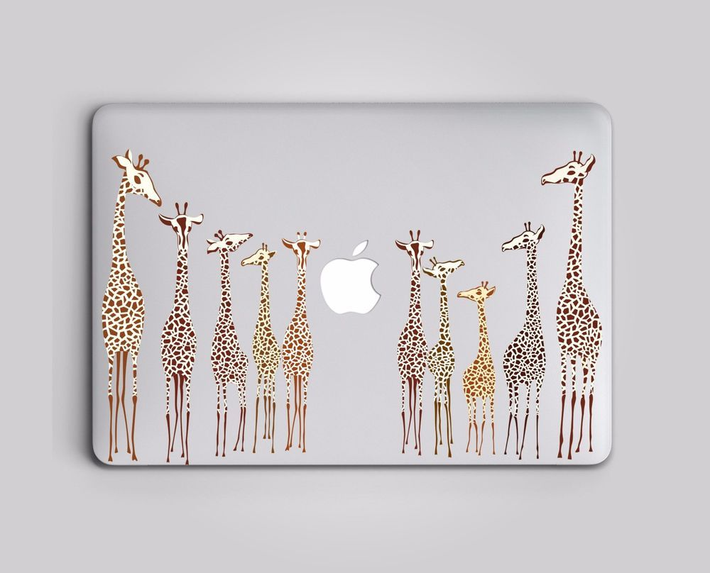 Air Giraffe Pro or Ipad Decal for MacBook