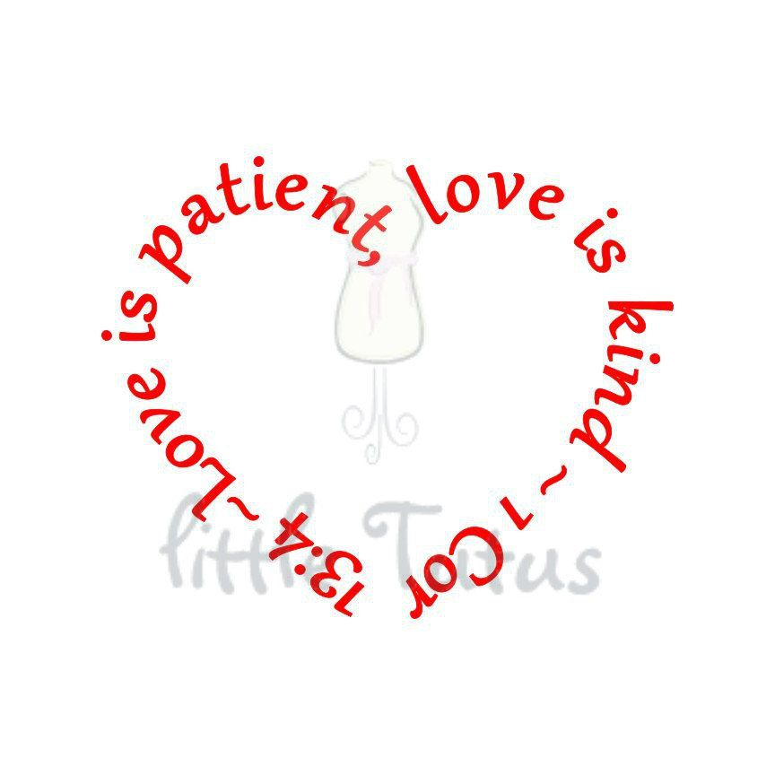 Download Love is Patient Love is Kind 1 Corinthians 13:4 Digital ...