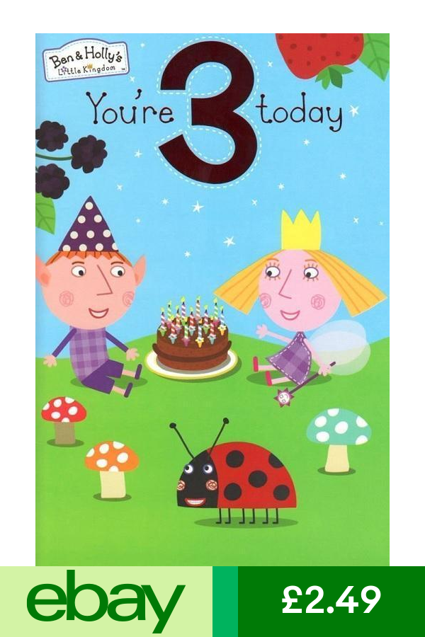 Ben Amp Holly Greeting Cards Home Furniture Diy Ben And Holly Birthday Birthday Cards