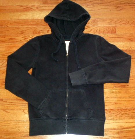 WOMENS juniors MEDIUM AEROPOSTALE black HOODIE fleece JACKET, CUTE ...