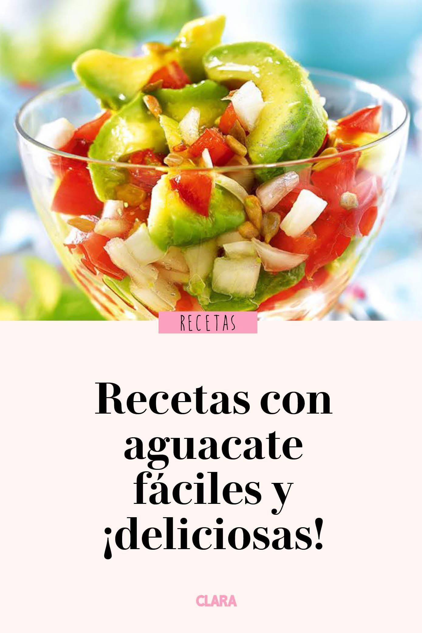 11 Recetas Con Aguacate Faciles Y Deliciosas Aguacate Recetas Aguacate Recetas Ensalada Aguacate