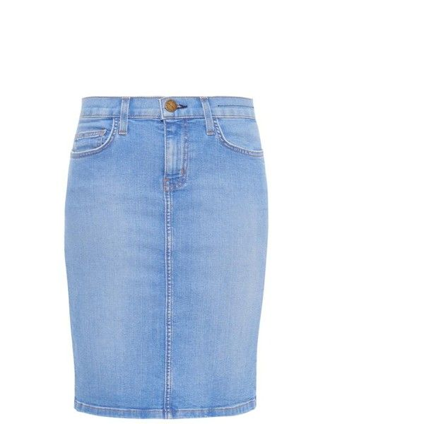 skirt The CURRENTELLIOTT pencil 284 denim Stiletto IqPISCwF6