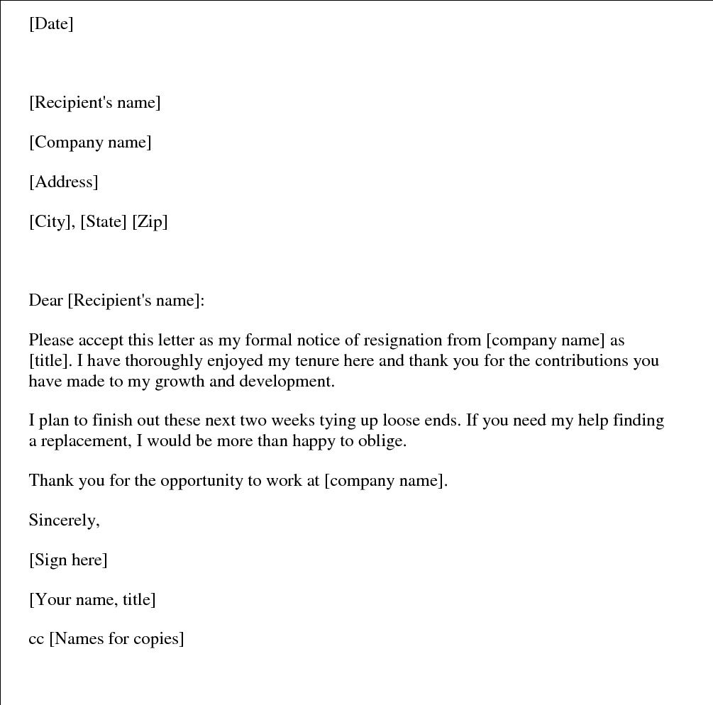 Resignation letter after getting new job documents letters sample resignation letter after getting new job documents letters sample opportunity spiritdancerdesigns Images