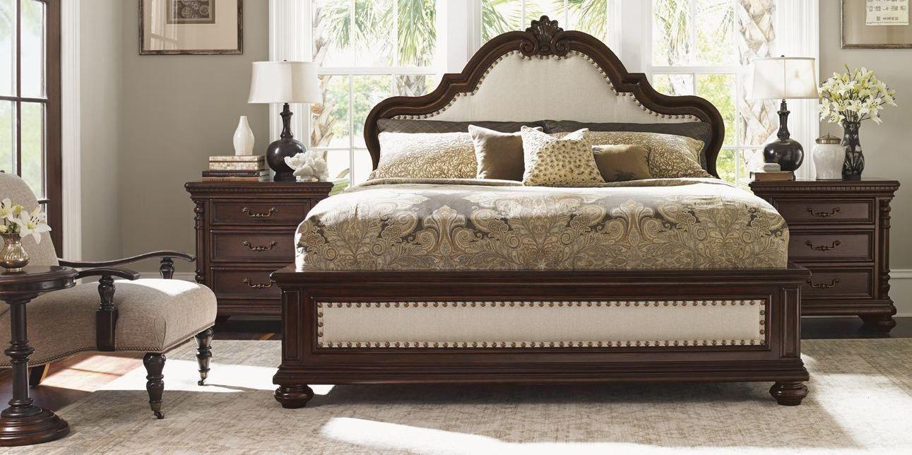 Kilimanjaro Barcelona Panel Bedroom Set From Tommy Bahama Platform Sets  Furniture