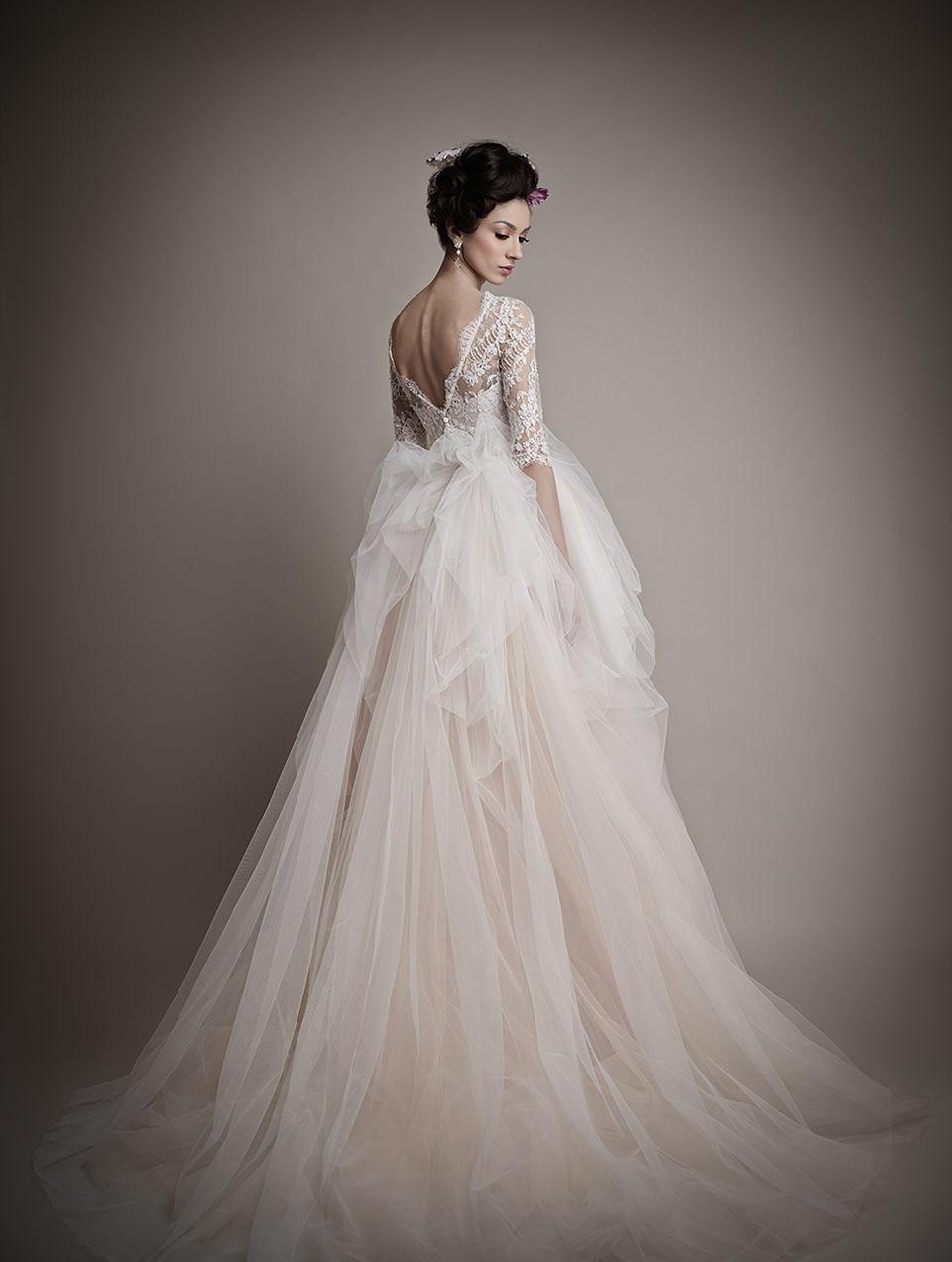Glamorous & Elegant Wedding Dresses from Ersa Atelier | Sleeved ...