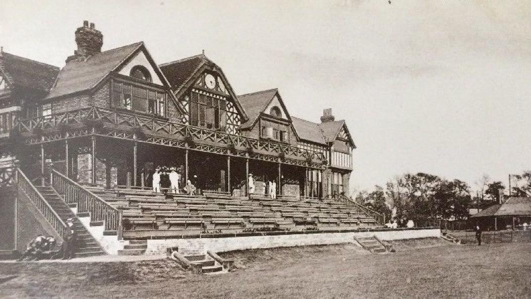 Liverpool Cricket Club, Aigburth Road.   Liverpool home, Liverpool town,  Liverpool