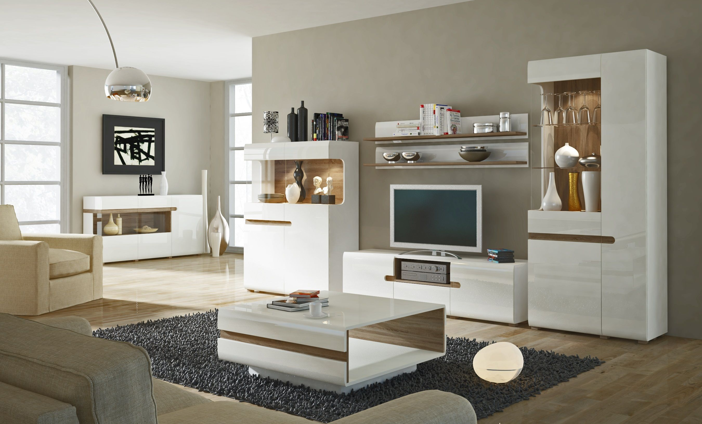 Goedkope Design Meubels.Linate 2 Tv Wandmeubels Woonkamerkasten Moderne Meubels En Tv