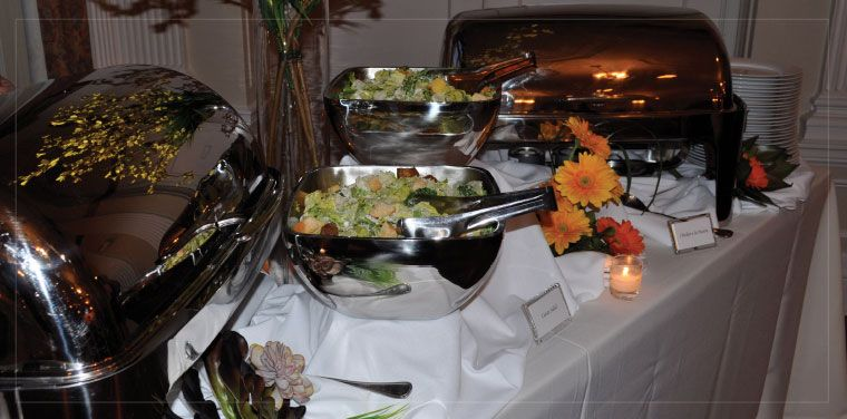 Buffet Style Dinner Service #CNCatering #DallasCatering #DallasWedding #TexasWeddings #WeddingCatering