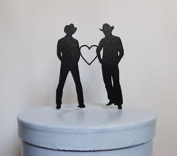 Wedding Cake Topper Same Sex Gay By Plasticsmith 2300