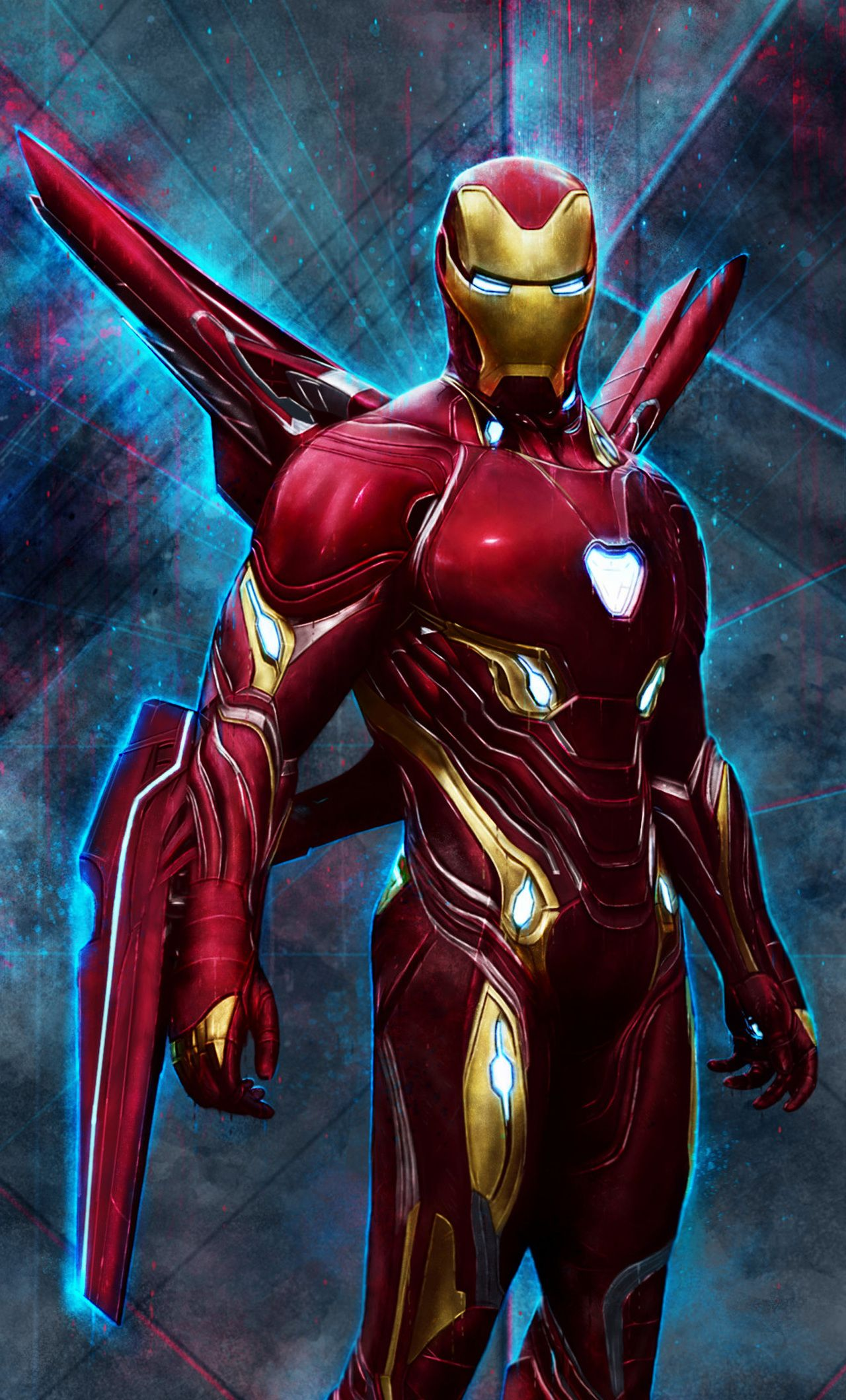 1280x2120 Iron Man Bleeding Edge Armor Iphone 6 Hd 4k