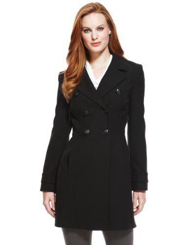 3470ec05f1de Double Breasted Military Coat | Coats | Coat, Next coats, Double ...