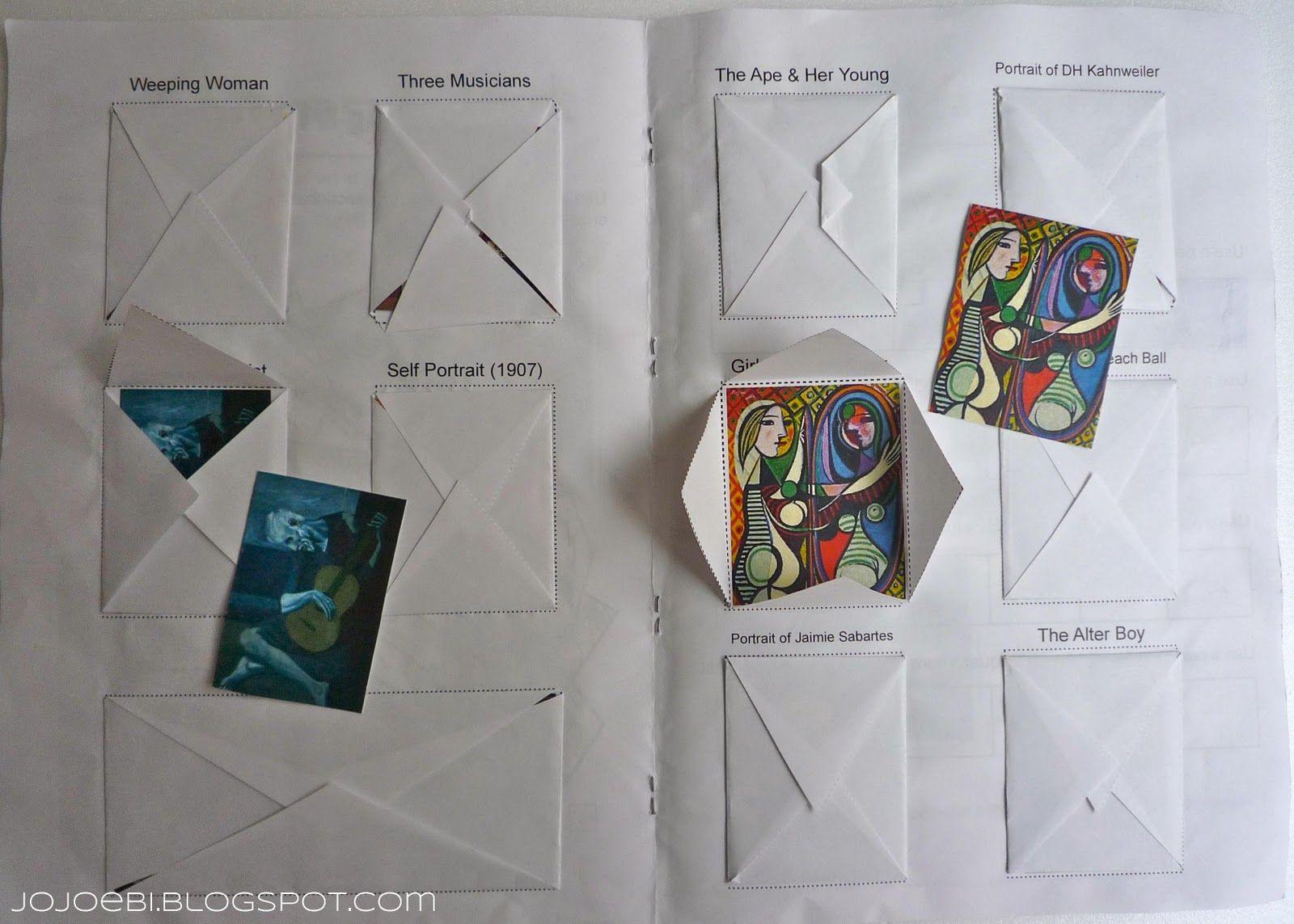 Picasso Printable Workbook
